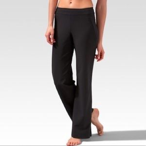 Lucy Pants - Lucy Wide Leg Black Workout Legging